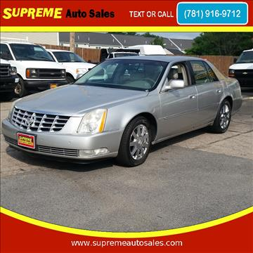 2007 Cadillac DTS for sale in Abington, MA