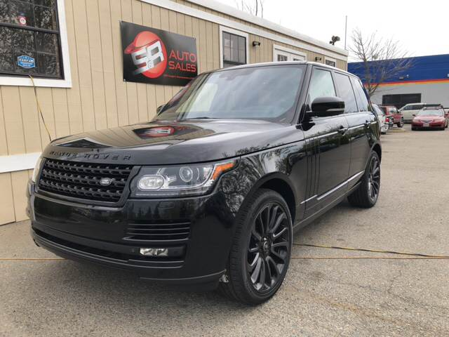 2014 Land Rover Range Rover Supercharged Ebony Edition In West ...