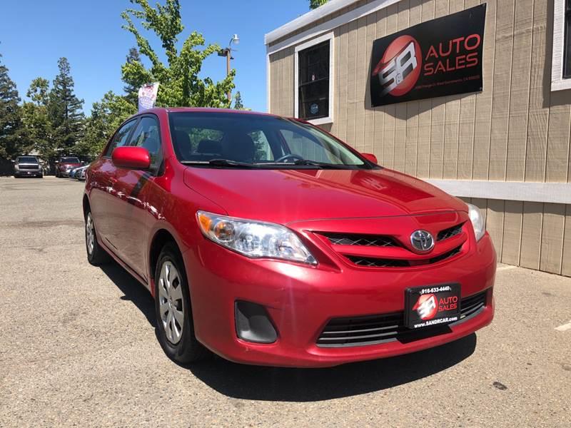 2011 Toyota Corolla For Sale At S U0026 R Auto Sales In West Sacramento CA