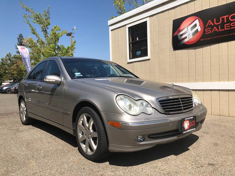 2004 Mercedes Benz C Class For Sale At S U0026 R Auto Sales In