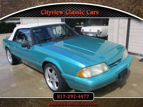 1993 Ford Mustang for sale in Fort Worth, TX
