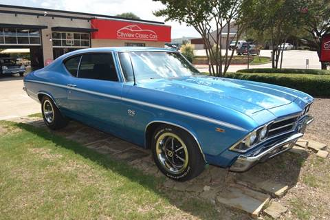 1969 Chevrolet Chevelle Malibu for sale in Fort Worth, TX