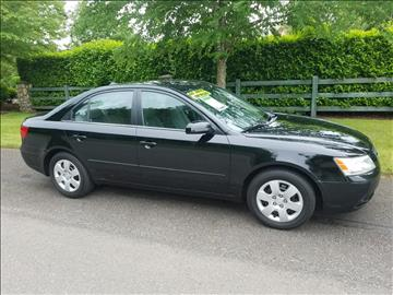 2009 Hyundai Sonata for sale at Money Man Pawn (Auto Division) in Black Diamond WA