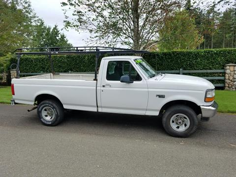 1995 Ford F-150 for sale at Money Man Pawn (Auto Division) in Black Diamond WA