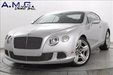 2012 Bentley Continental GT for sale in Somerville, NJ
