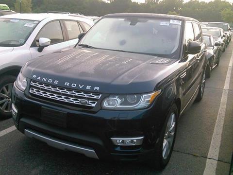 2016 Land Rover Range Rover Sport for sale in Somerville, NJ
