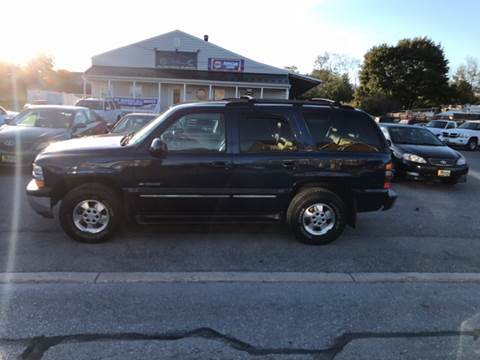2001 Chevrolet Tahoe for sale in Woodsboro, MD