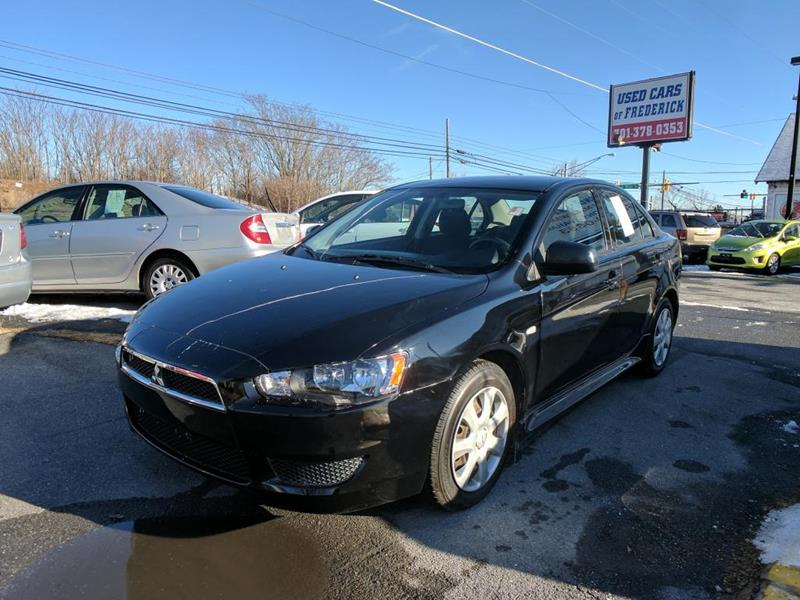 2013 Mitsubishi Lancer For Sale At Used Cars Of Frederick LLC In Frederick  MD
