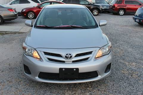 2012 Toyota Corolla for sale at QUALITY AUTOMOTIVE in Mobile AL