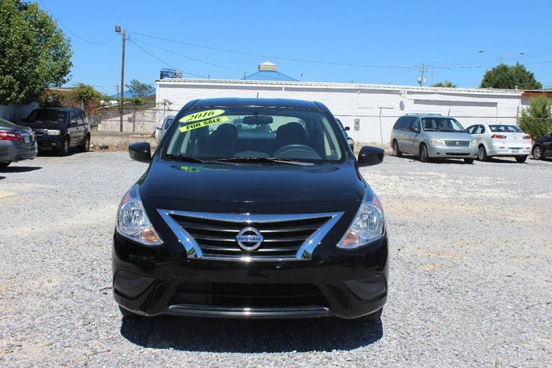 2016 Nissan Versa for sale at QUALITY AUTOMOTIVE in Mobile AL