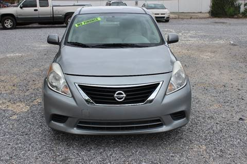 2012 Nissan Versa for sale at QUALITY AUTOMOTIVE in Mobile AL