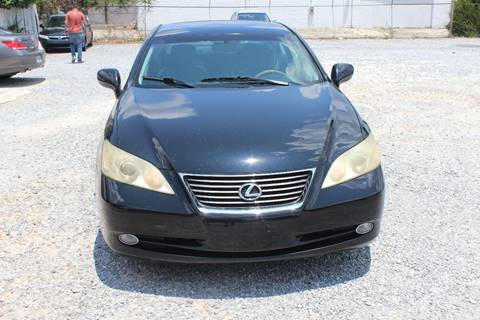 2007 Lexus ES 350 for sale at QUALITY AUTOMOTIVE in Mobile AL