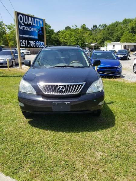 2008 Lexus RX 350 For Sale At QUALITY AUTOMOTIVE In Mobile AL