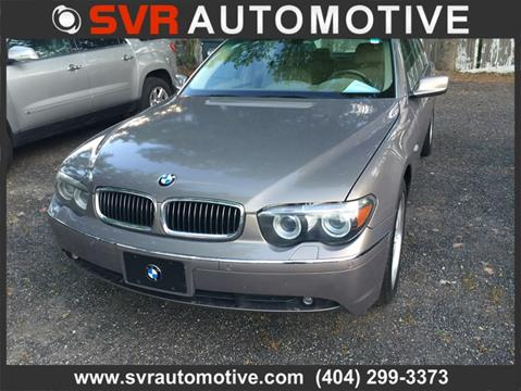 2004 BMW 7 Series for sale in Decatur, GA