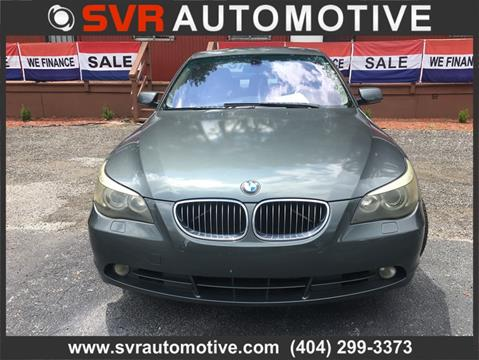 2005 BMW 5 Series for sale in Decatur, GA