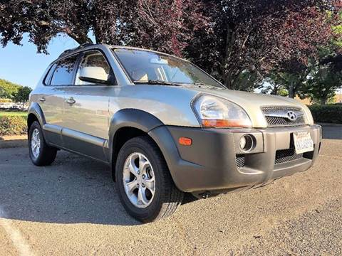 2009 Hyundai Tucson for sale at Sams Auto Sales in North Highlands CA