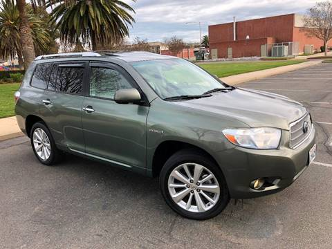 2008 Toyota Highlander Hybrid for sale at Sams Auto Sales in North Highlands CA