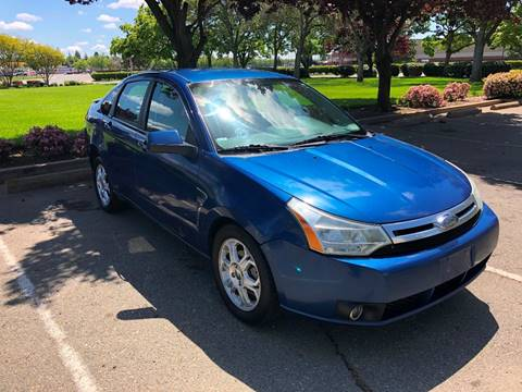 2008 Ford Focus for sale at Sams Auto Sales in North Highlands CA