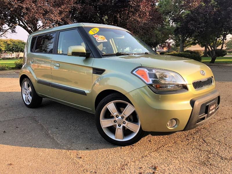 2010 Kia Soul for sale at Sams Auto Sales in North Highlands CA