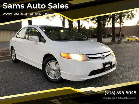 2006 Honda Civic for sale at Sams Auto Sales in North Highlands CA
