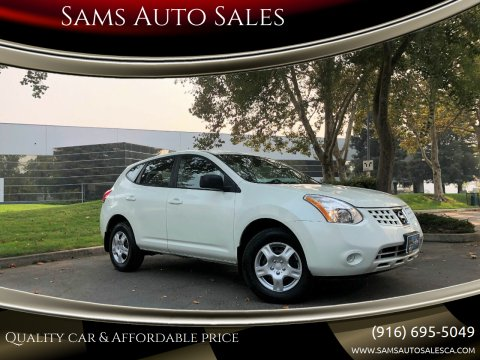 2009 Nissan Rogue for sale at Sams Auto Sales in North Highlands CA
