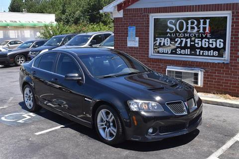 2009 Pontiac G8 for sale in Suwanee, GA