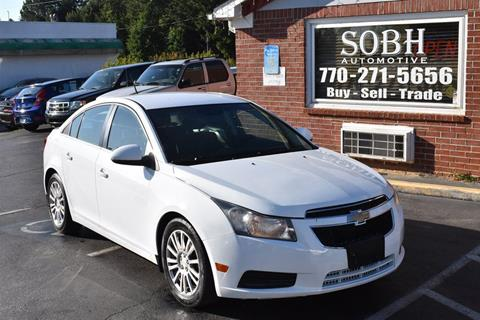 2011 Chevrolet Cruze for sale in Suwanee, GA