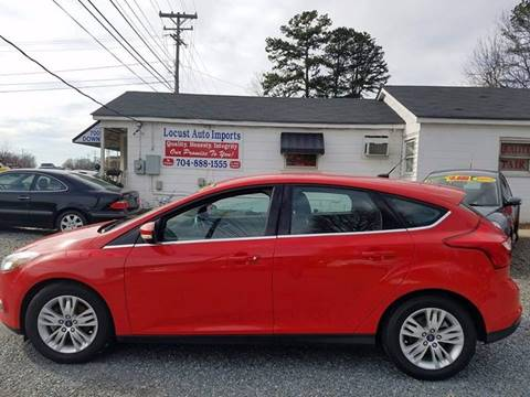 2012 Ford Focus for sale at Locust Auto Imports in Locust NC