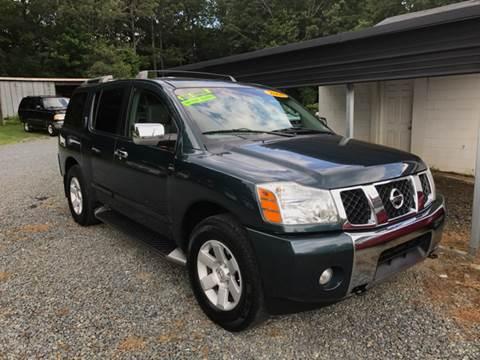 2004 Nissan Armada for sale at Locust Auto Imports in Locust NC
