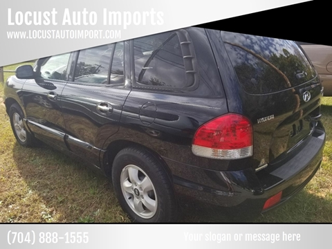 2006 Hyundai Santa Fe for sale at Locust Auto Imports in Locust NC