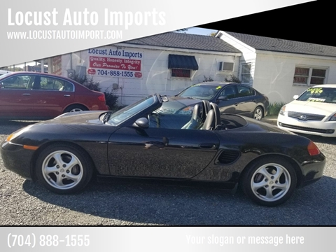 1999 Porsche Boxster for sale at Locust Auto Imports in Locust NC