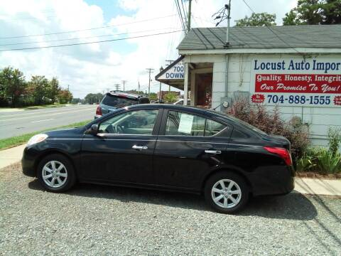 2012 Nissan Versa for sale at Locust Auto Imports in Locust NC