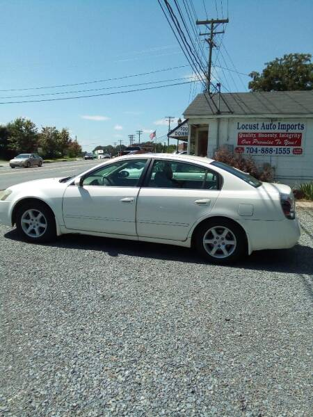 2006 Nissan Altima for sale at Locust Auto Imports in Locust NC