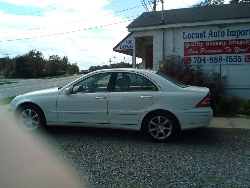 2007 Mercedes-Benz C-Class for sale at Locust Auto Imports in Locust NC