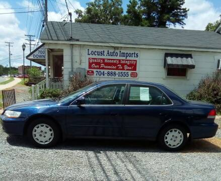 2001 Honda Accord for sale at Locust Auto Imports in Locust NC