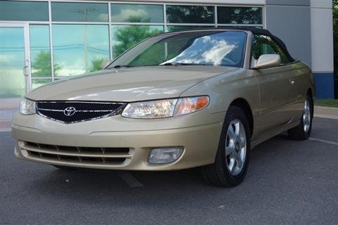 2001 Toyota Camry Solara for sale in Chantilly, VA