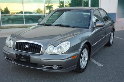 2004 Hyundai Sonata for sale in Chantilly, VA