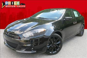 2016 Dodge Dart for sale in Cassville, PA