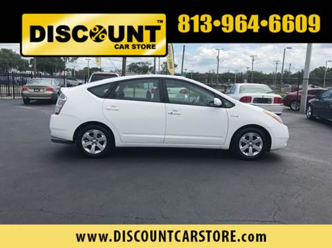 2008 Toyota Prius for sale at Discount Car Store in Tampa FL