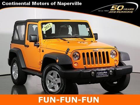 2012 Jeep Wrangler for sale in Naperville, IL
