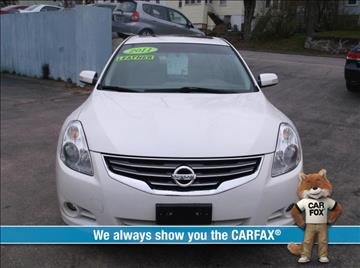 2011 Nissan Altima for sale in Gardner, MA