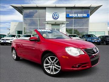 2010 Volkswagen Eos for sale in Irvine, CA