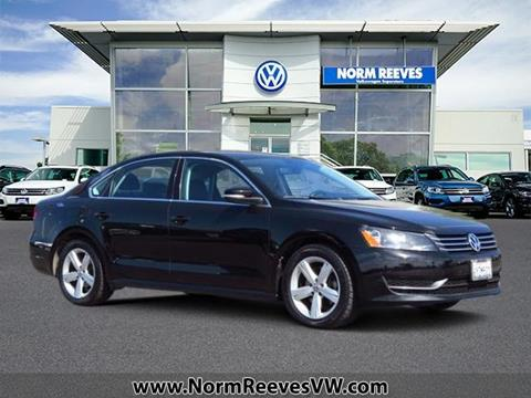 2013 Volkswagen Passat for sale in Irvine, CA