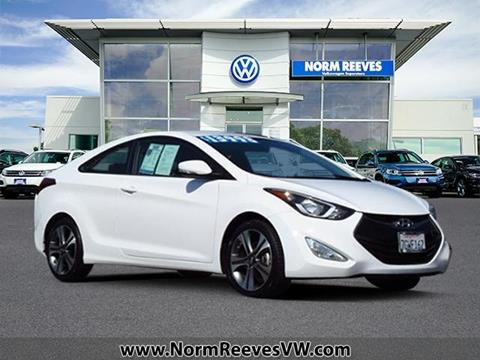 2014 Hyundai Elantra Coupe for sale in Irvine, CA