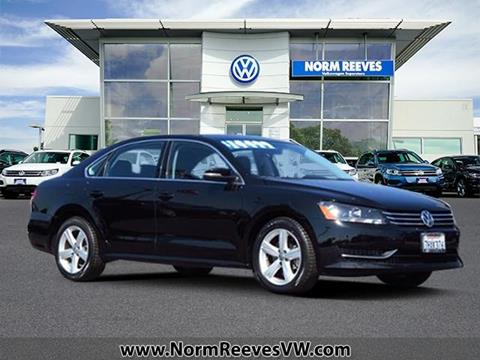 2014 Volkswagen Passat for sale in Irvine, CA