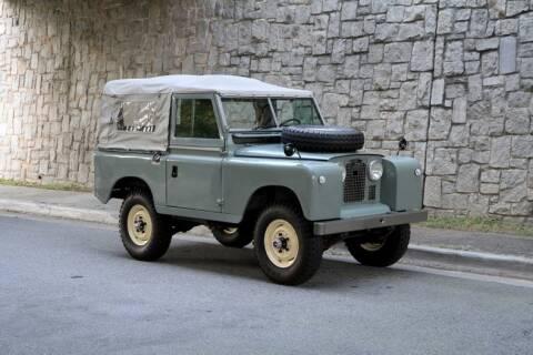 1967 Land Rover Series IIA for sale at Motorcar Studio in Atlanta GA