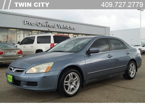 2007 Honda Accord for sale in Port Arthur, TX