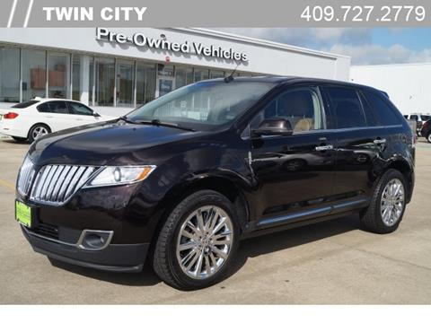 2013 Lincoln MKX for sale in Port Arthur, TX