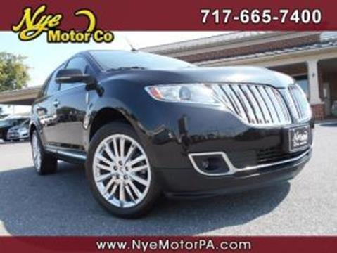 2013 Lincoln MKX for sale in Manheim, PA