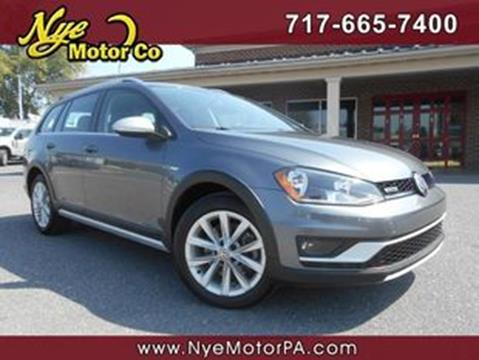 2017 Volkswagen Golf Alltrack for sale in Manheim, PA